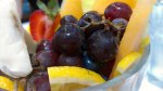 winogrona w sałatce owocowej
